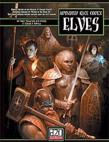 Role Playing Games - Advanced Race Codex: Elves