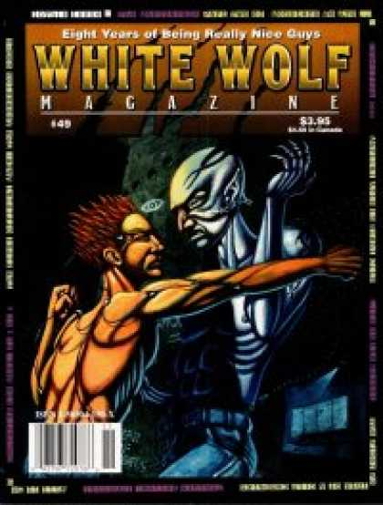 Role Playing Games - White Wolf Magazine #49