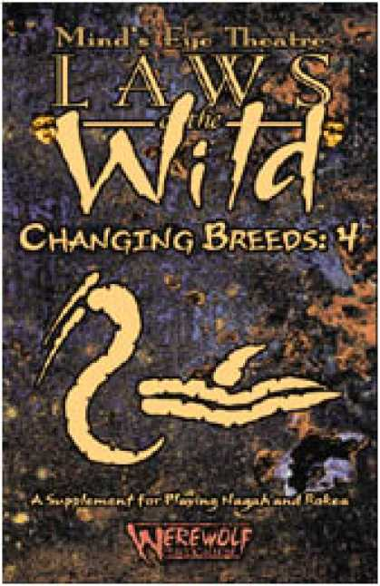 Role Playing Games - Laws of the Wild: Changing Breeds 4