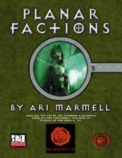 Role Playing Games - Lions Den Press: Secrets of the Planes -- Planar Factions