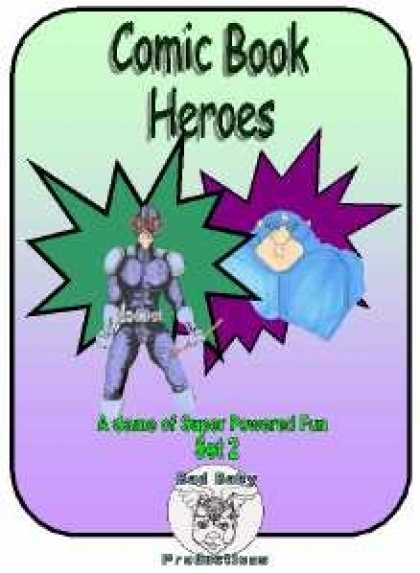 Role Playing Games - Comic Book Heroes, Set #2, Mini-Game #28