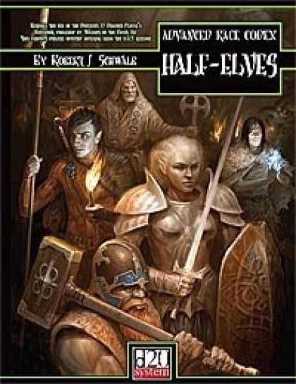 Role Playing Games - Advanced Race Codex: Half-Elves