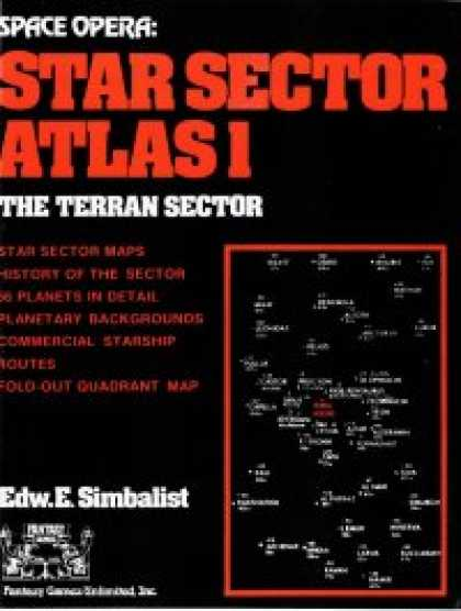Role Playing Games - Space Opera: Star Sector Atlas 1: Terran Sector