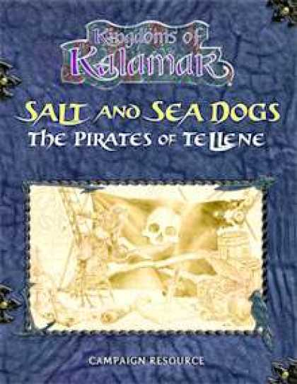 Role Playing Games - Salt and Sea Dogs: The Pirates of Tellene