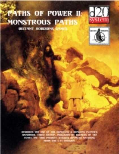 Role Playing Games - Paths of Power II: Monstrous Paths