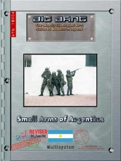 Role Playing Games - Big Bang: Small Arms of Argentina