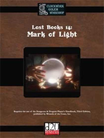 Role Playing Games - Lost Books 14: Mark of Light