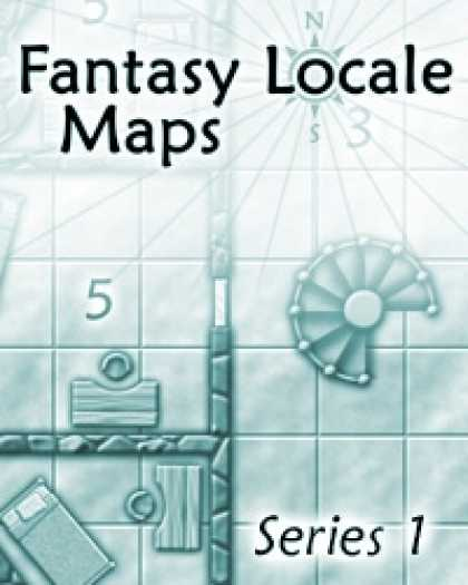Role Playing Games - Fantasy Locale Maps: Series 1