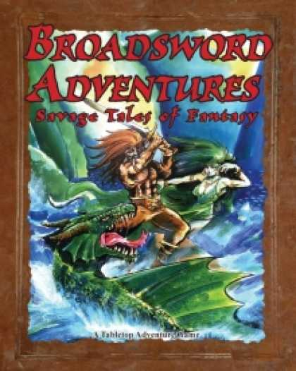 Role Playing Games - Broadsword Adventures: Savage Tales of Fantasy