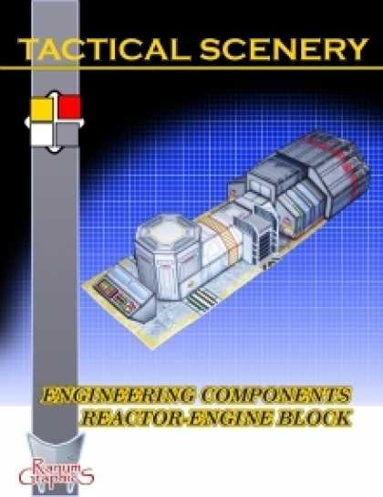 Role Playing Games - Tactical Scenery: Engineering Components Reactor-Engine Block