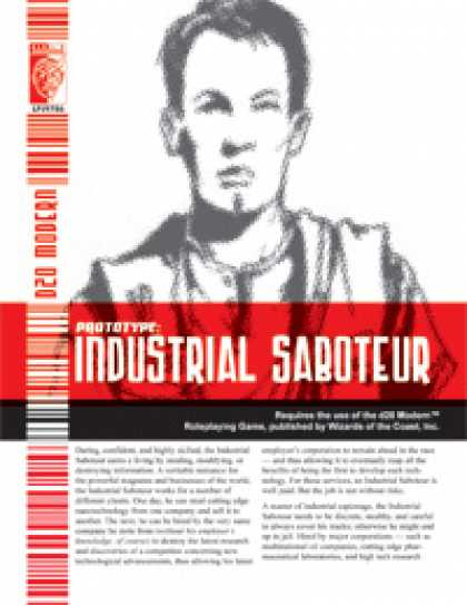 Role Playing Games - Prototype: Industrial Saboteur