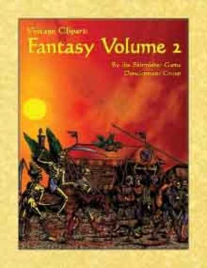 Role Playing Games - Vintage Clipart: Fantasy Volume 2