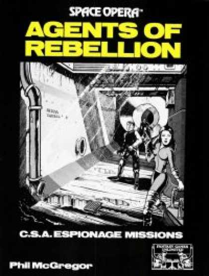 Role Playing Games - Space Opera: Agents of Rebellion