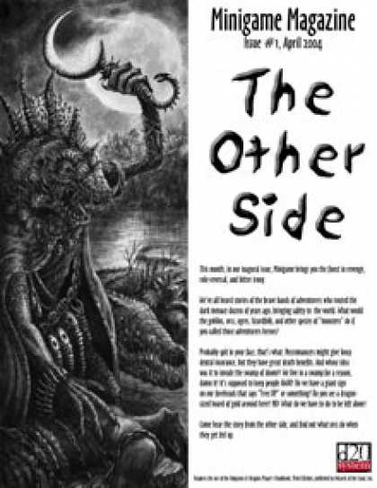 Role Playing Games - The Other Side