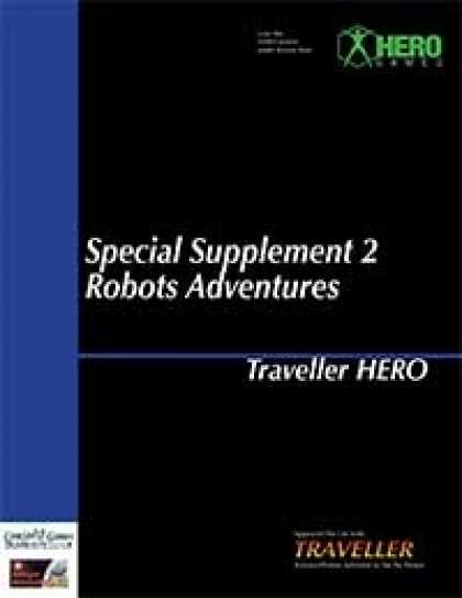 Role Playing Games - Traveller Hero - Special Supplement 2: Robot Adventures