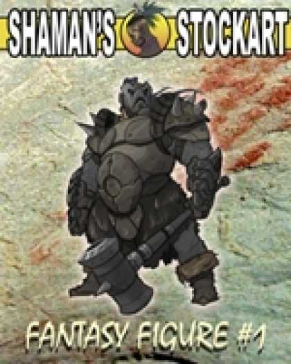 Role Playing Games - Shaman's Stockart Fantasy Figures 1