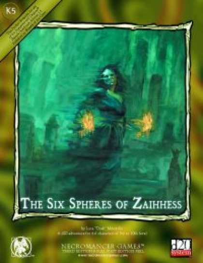 Role Playing Games - The Six Spheres of Zaihhess