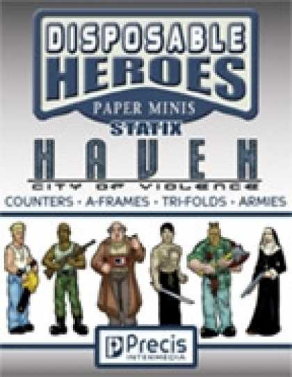 Role Playing Games - Disposable Heroes Statix - Haven: City of Violence