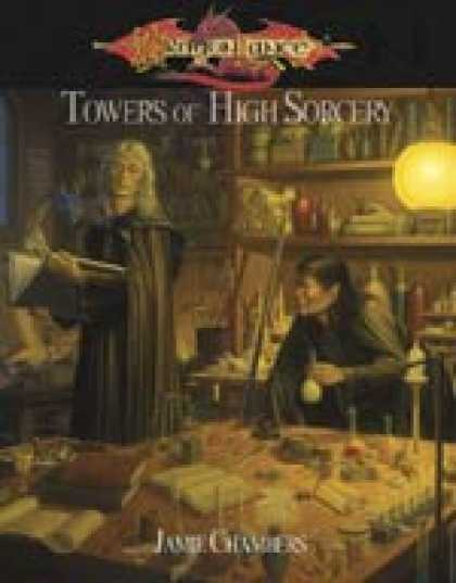 Role Playing Games - Towers of High Sorcery: A Dragonlance© d20 System Supplement