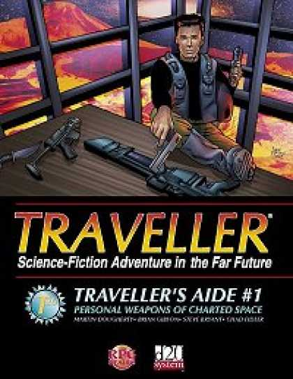 Role Playing Games - Traveller's Aide #1 - Personal Weapons of Charted Space