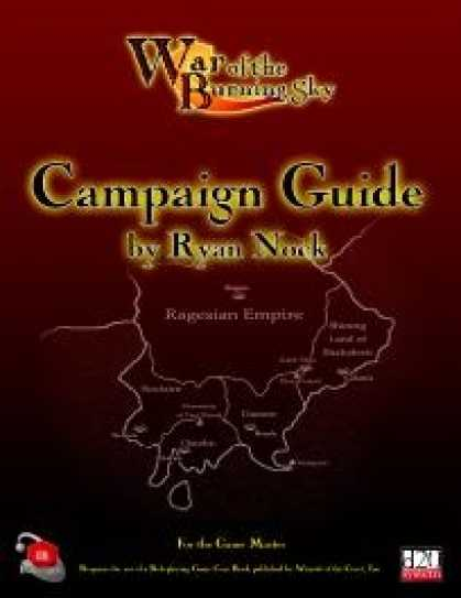 Role Playing Games - War of the Burning Sky Campaign Saga - Campaign Guide