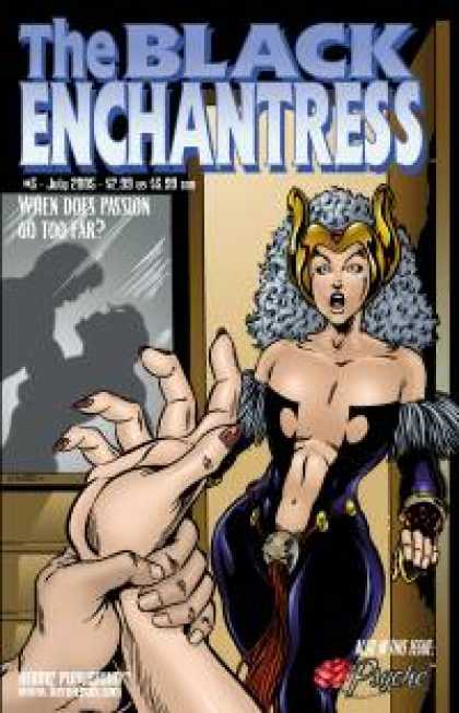Role Playing Games - Black Enchantress #3