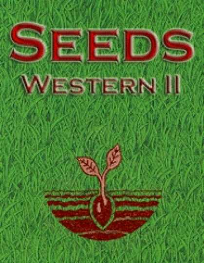 Role Playing Games - Seeds: Western II