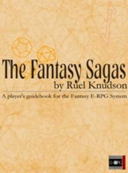 Role Playing Games - The Fantasy Sagas: Player's Guidebook