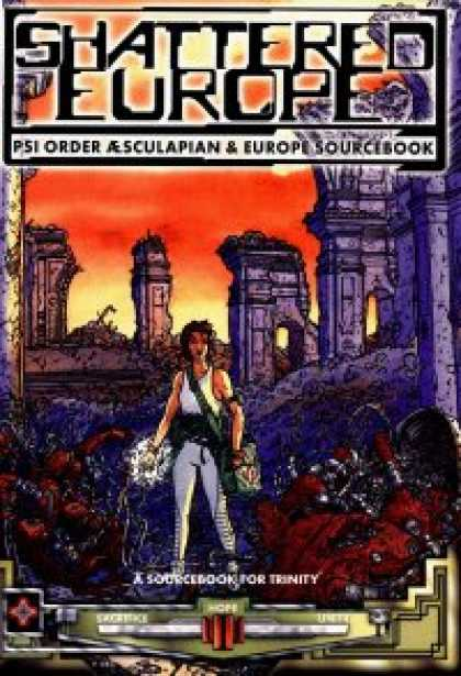 Role Playing Games - Shattered Europe: Psi Order AEscupalian & Europe Sourcebook