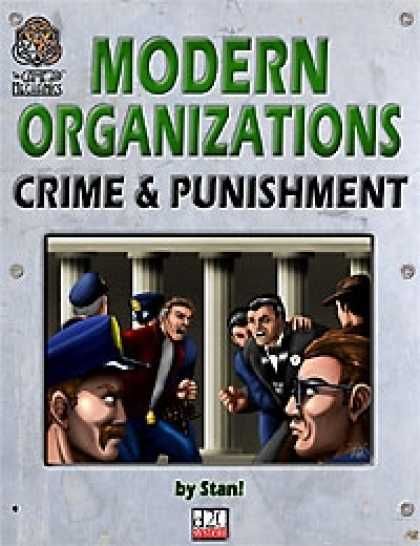 Role Playing Games - Modern Organizations: Crime and Punishment