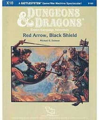 Role Playing Games - X10 - Red Arrow, Black Shield