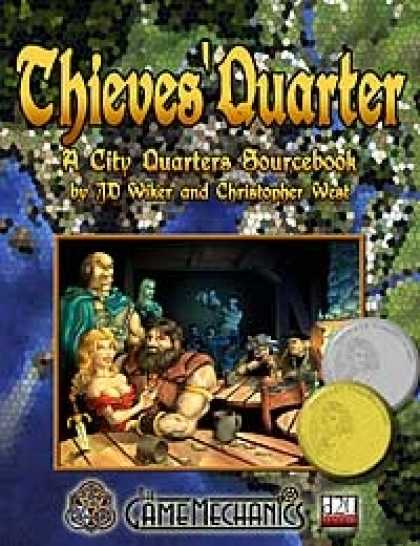 Role Playing Games - Thieves' Quarter: A City Quarters Sourcebook