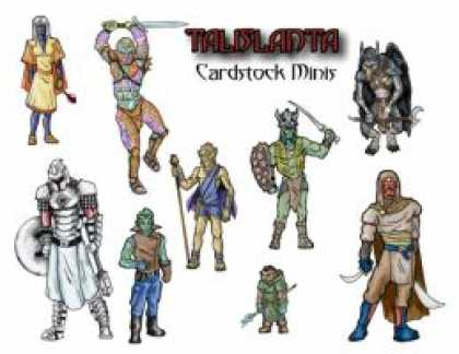 Role Playing Games - Talislanta Cardstock Minis