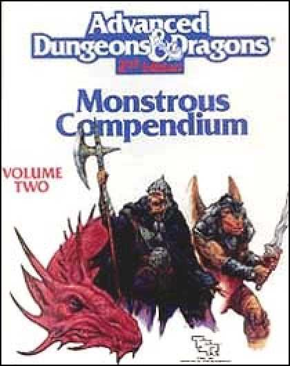 Role Playing Games - Monstrous Compendium - Dragonlance Appendix II