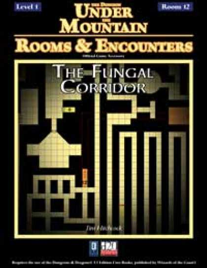Role Playing Games - Rooms & Encounters: The Fungal Corridor