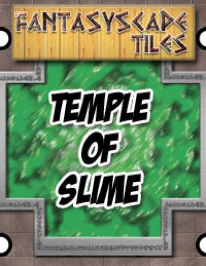 Role Playing Games - Fantasyscape Tiles: Temple of Slime