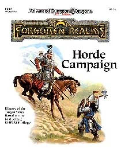 Role Playing Games - The Horde Campaign