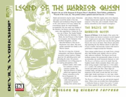 Role Playing Games - Lost Relics: Legend of the Warrior Queen