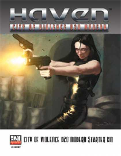 Role Playing Games - City of Violence D20 Modern Starter Kit