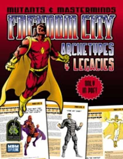 Role Playing Games - Freedom City Archetypes & Legacies