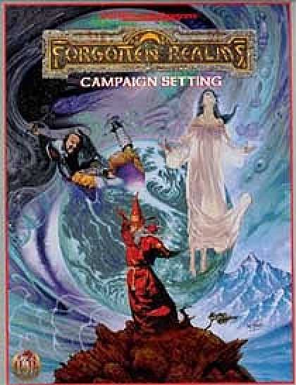 Role Playing Games - Forgotten Realms Revised Campaign Setting