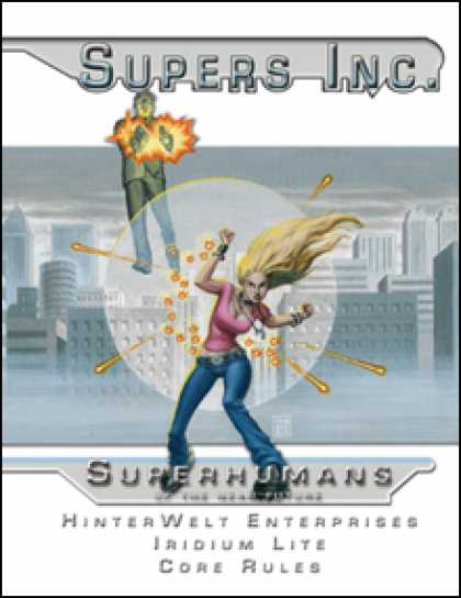 Role Playing Games - Supers Inc.