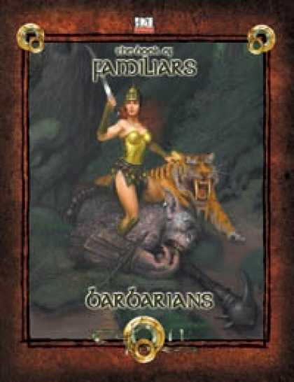 Role Playing Games - Book of Familiars Barbarians 3.5