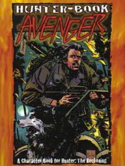 Role Playing Games - Hunter Book: Avenger