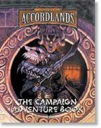 Role Playing Games - Warlords of the Accordlands: The Campaign Adventure Book