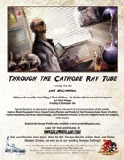 Role Playing Games - Savage Tales #10: Through the Cathode Ray Tube