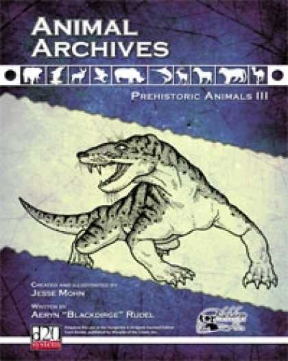 Role Playing Games - Animal Archives: Prehistoric Animals III