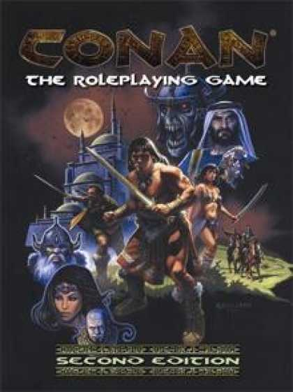 Role Playing Games - Conan the Roleplaying Game 2nd Edition