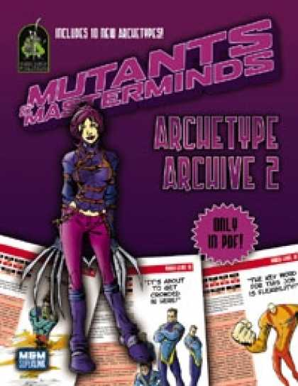 Role Playing Games - Mutants & Masterminds Archetype Archive 2