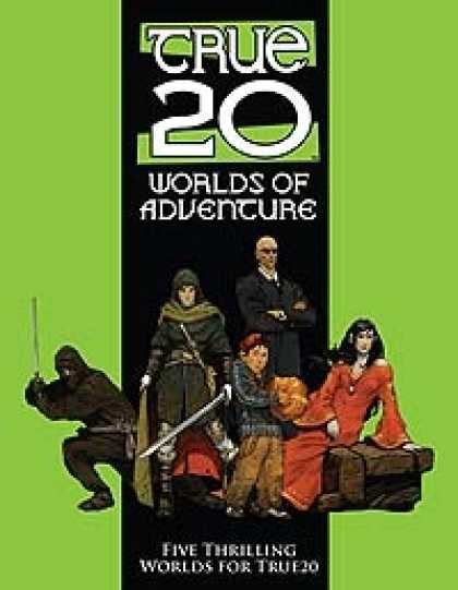 Role Playing Games - True20 Worlds of Adventure